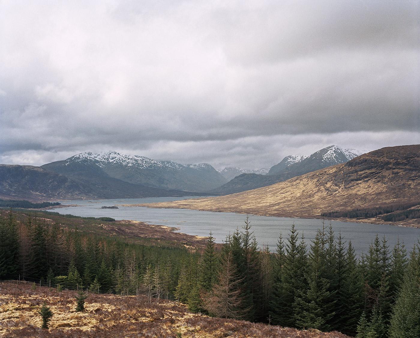 Viktoria Garvare Scotland Loch Loyne