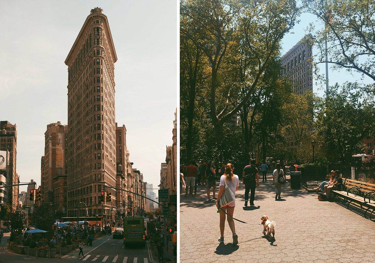 Viktoria Garvare New York Flatiron